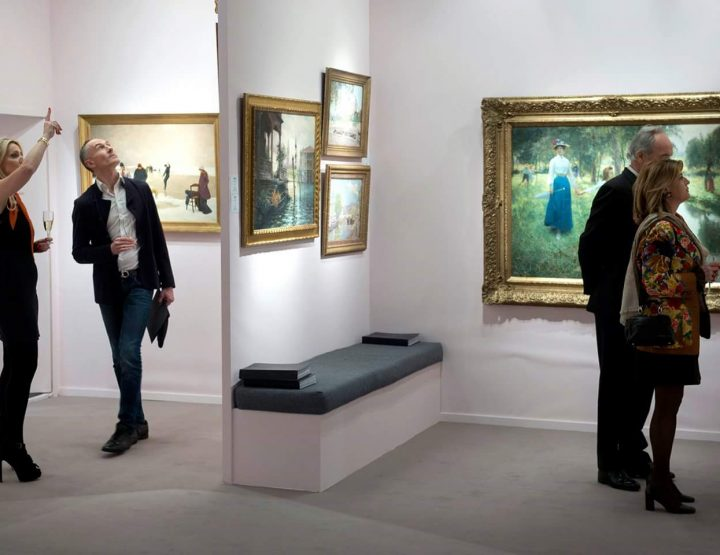 BRAFA 2017 HAUT LIEU DE L'ART POUR LES  FRANÇAIS DE BELGIQUE