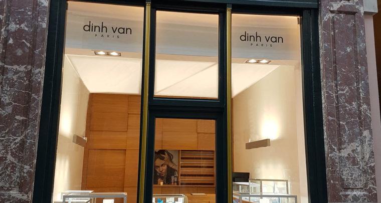Marianne en parle: Dinh Van au Sablon, au Wolluwe Shopping Center mais aussi Gallerie de la Reine.