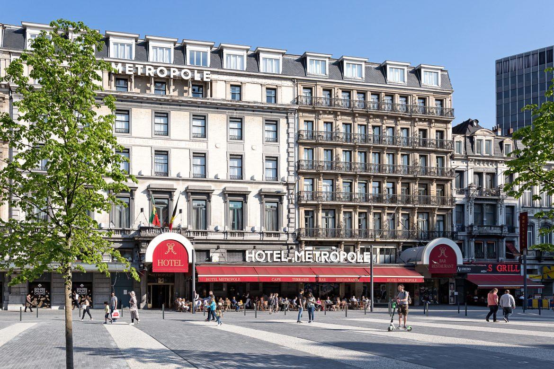 Terrasse Hotel Métropole