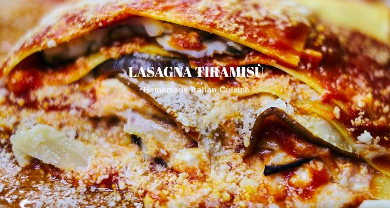 Lasagna Tiramisù, le meilleur de l'Italie